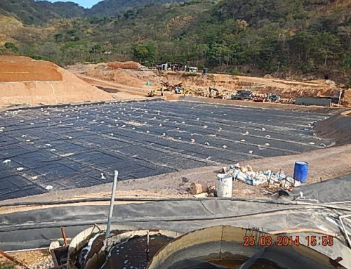 UPDATE: Geomembrane is in place